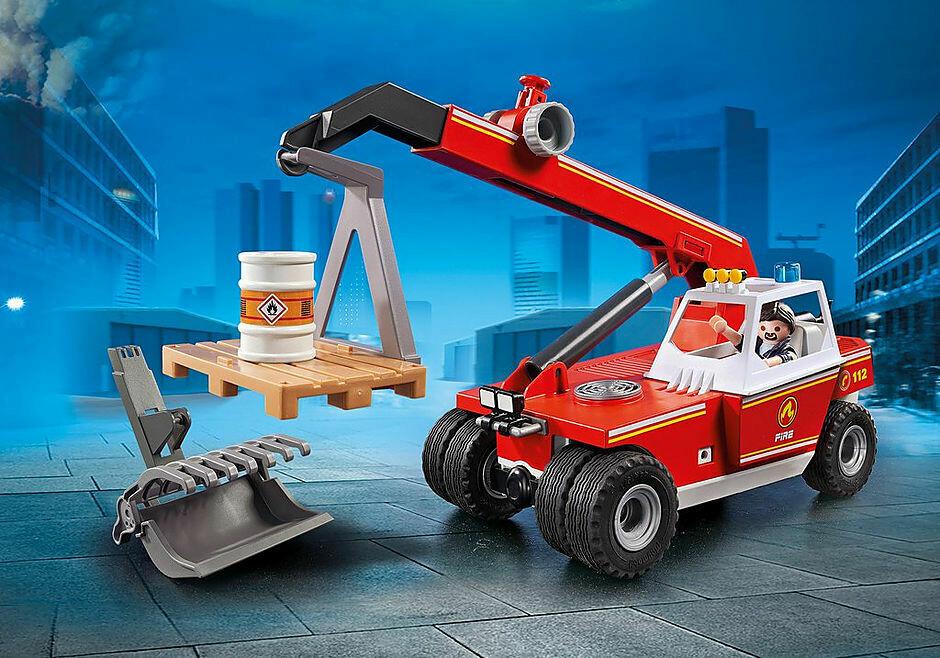 Playmobil; Fire Crane