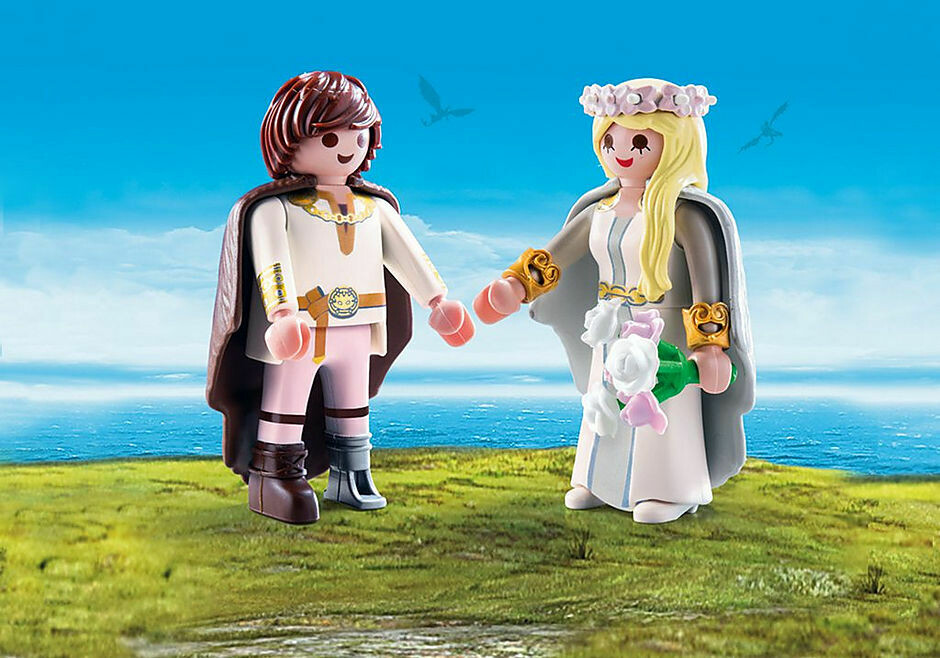 Playmobil; Astrid And Hicup
