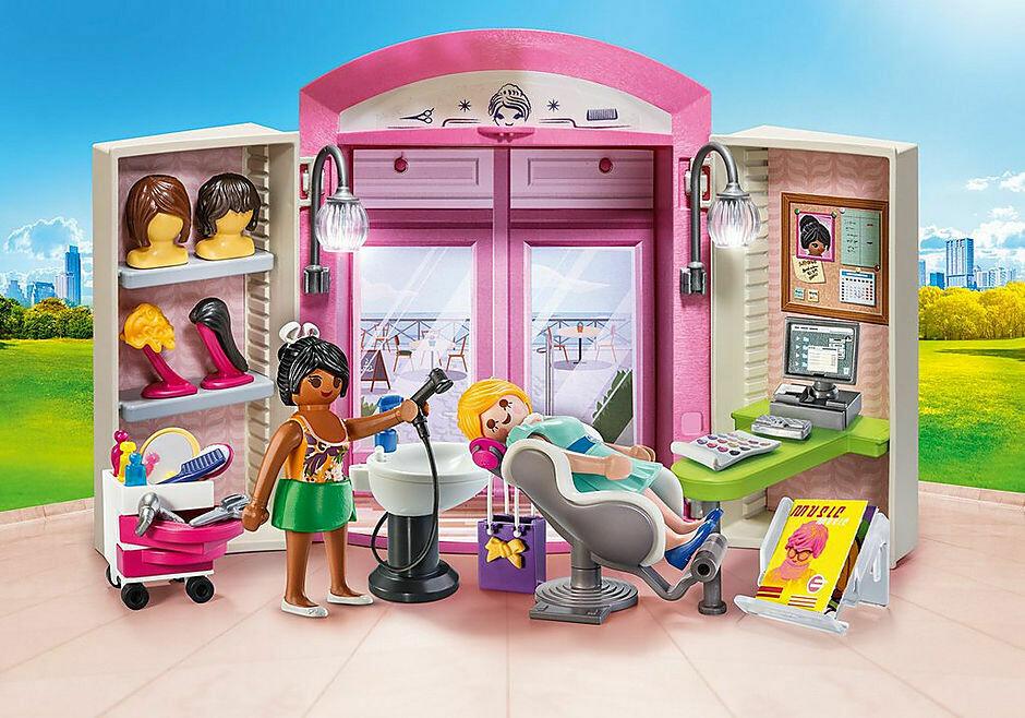 Playmobil; Beauty Salon Play Box