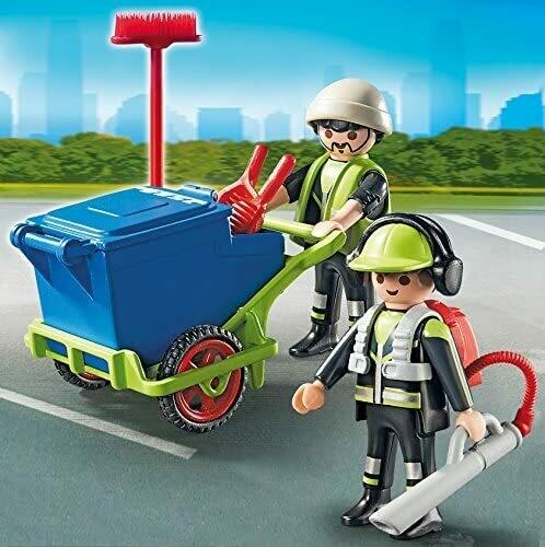 Playmobil; Sanitation Team