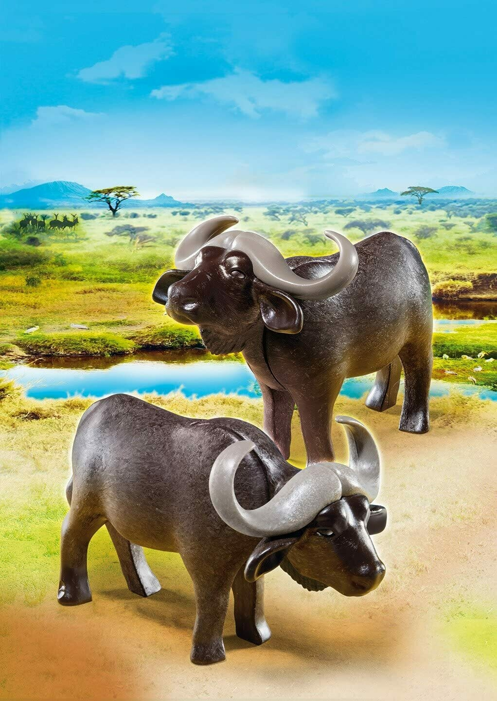 Playmobil; Water Buffaloes