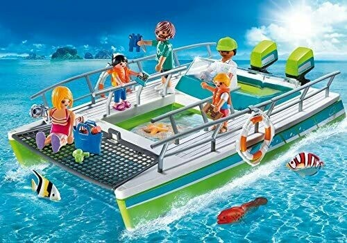 Playmobil: Glass-Bottom Boat With Underwater Motor (Discontinued)