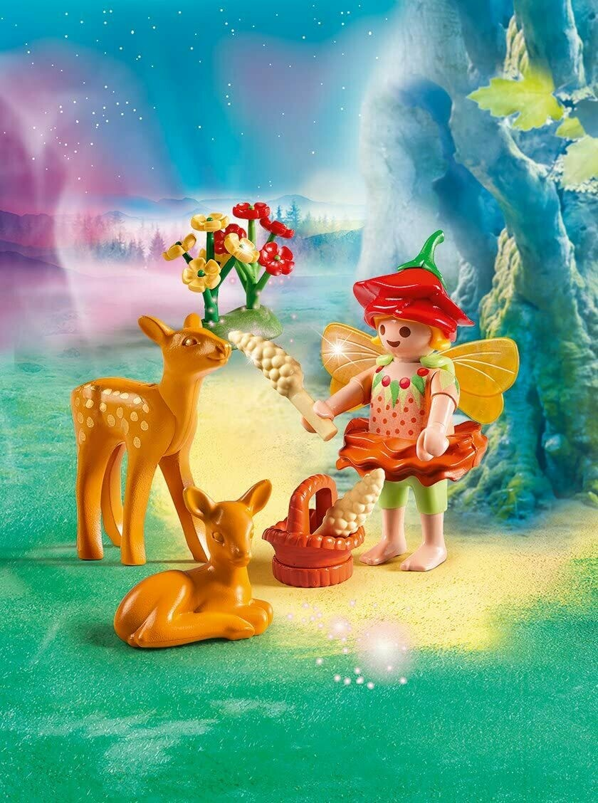 Playmobil; Fairy Girl With Fawns (Discontinued)