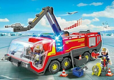 Playmobil; Airport Fire Engine With Lights and Sound