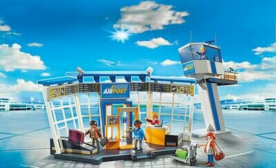 Playmobil; Airport With Control Tower (Discontinued)