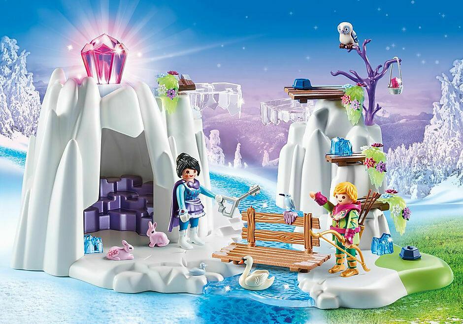 Playmobil; Crystal Diamond Hideout
