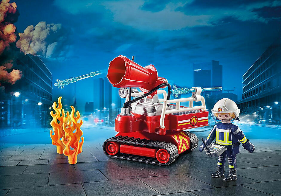 Playmobil; Fire Water Cannon