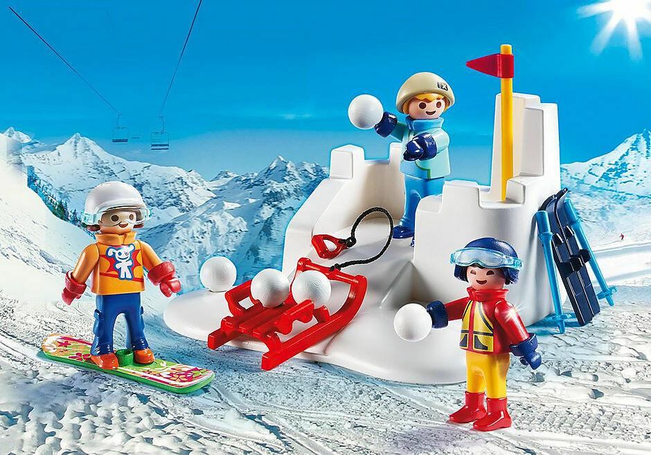 Playmobil; Snowball Fight