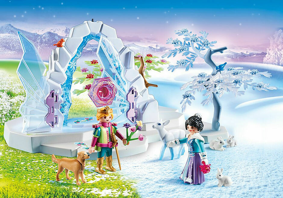 Playmobil; Crystal Gate To The Winter World