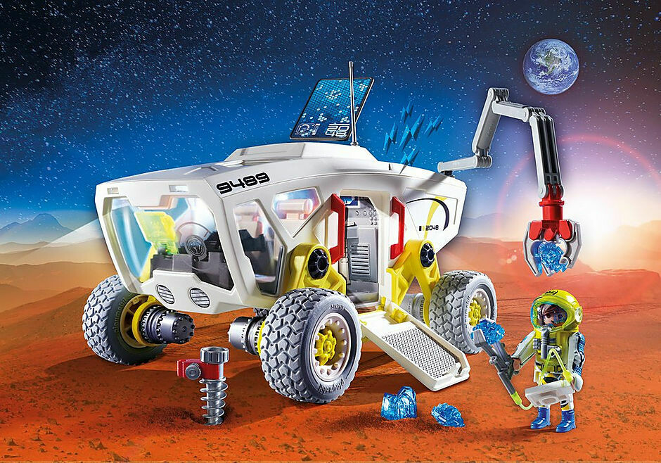 Playmobil; Mars Research Vehicle