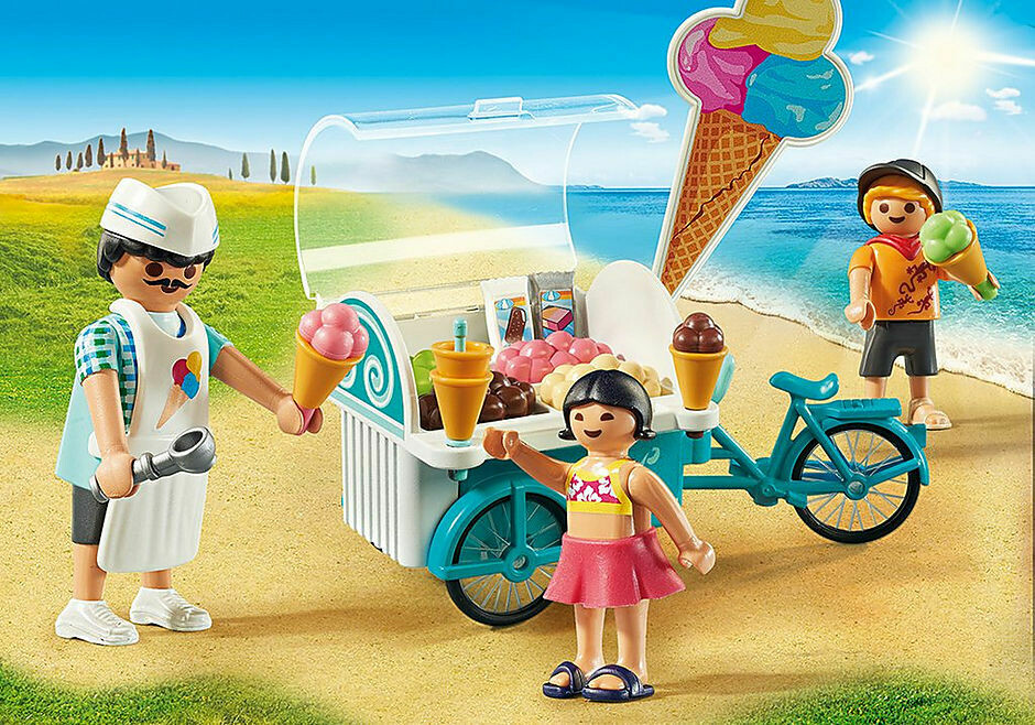 Playmobil; Ice Cream Cart