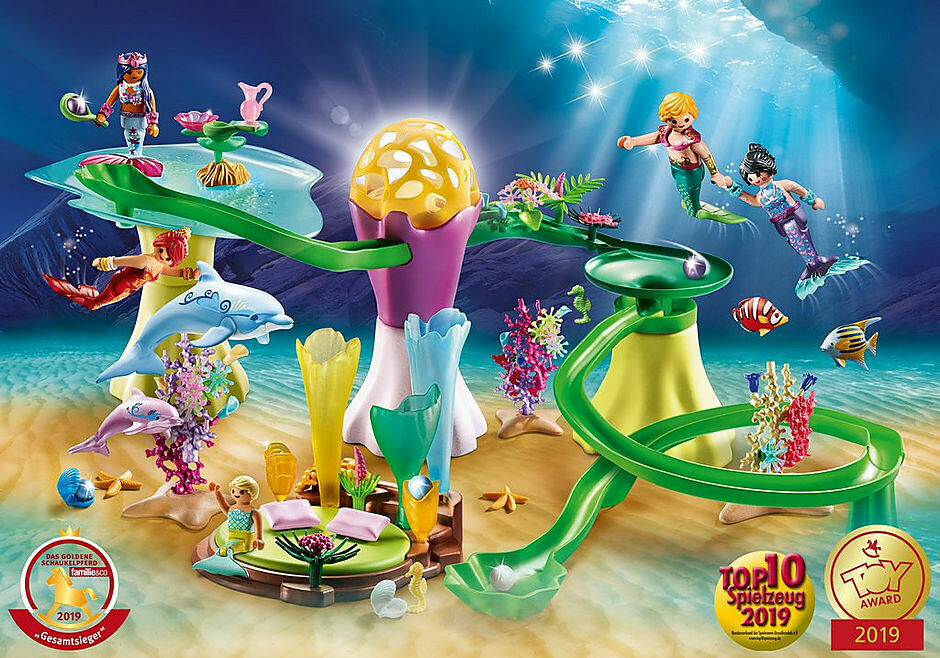 Playmobil; Mermaid Cove with Illuminated Dome