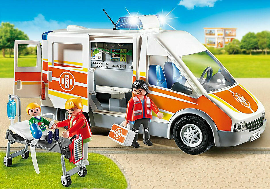 Playmobil; Ambulance With Lights And Sound