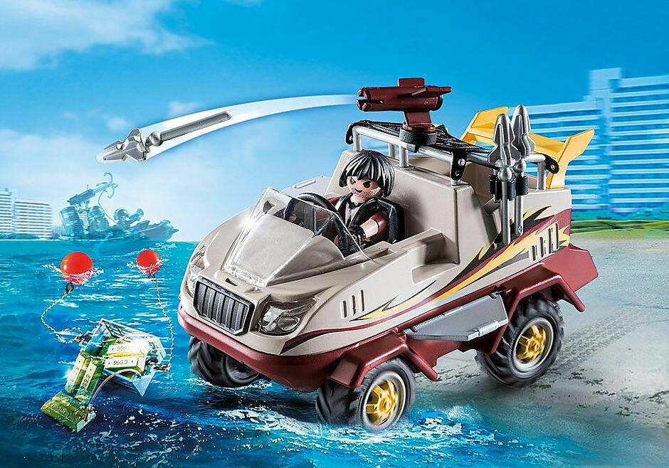 Playmobil; Amphibious Truck
