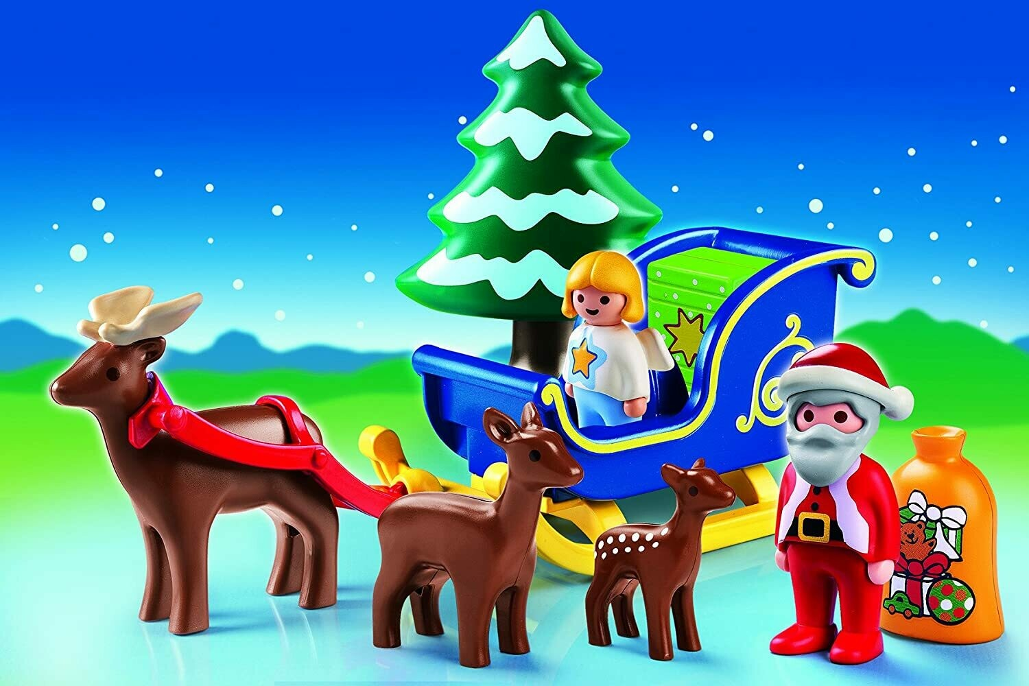 Playmobil; Santa Claus With Reindeer Sleigh