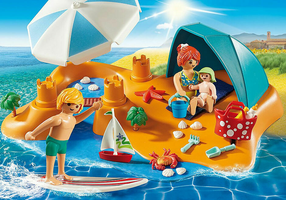Playmobil; Family Beach Day