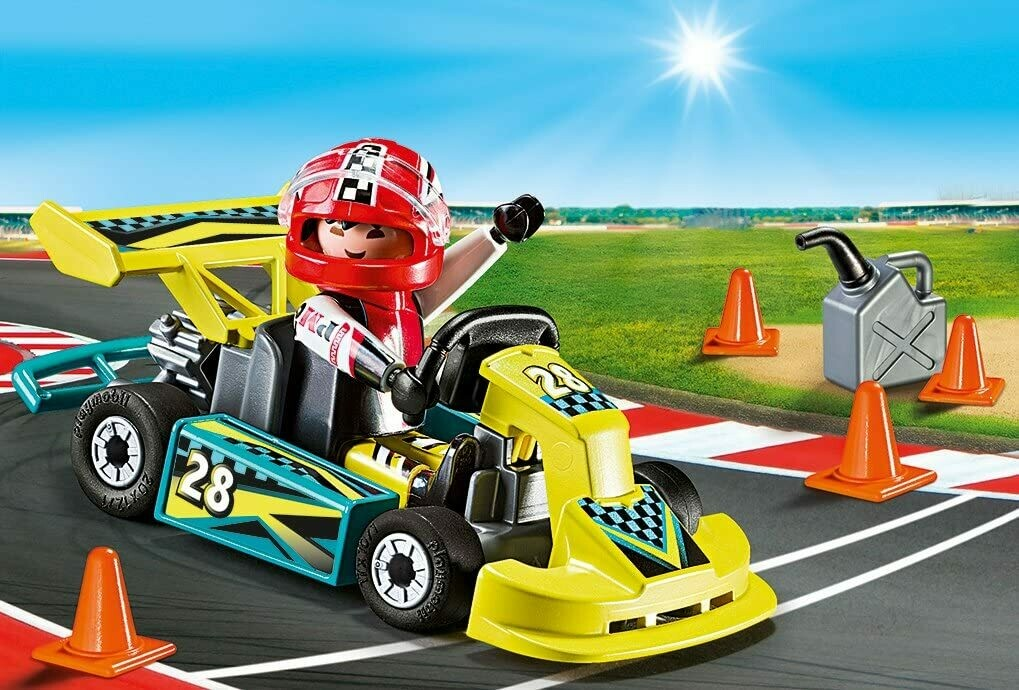 Playmobil; Go-Kart Racer Carry Case