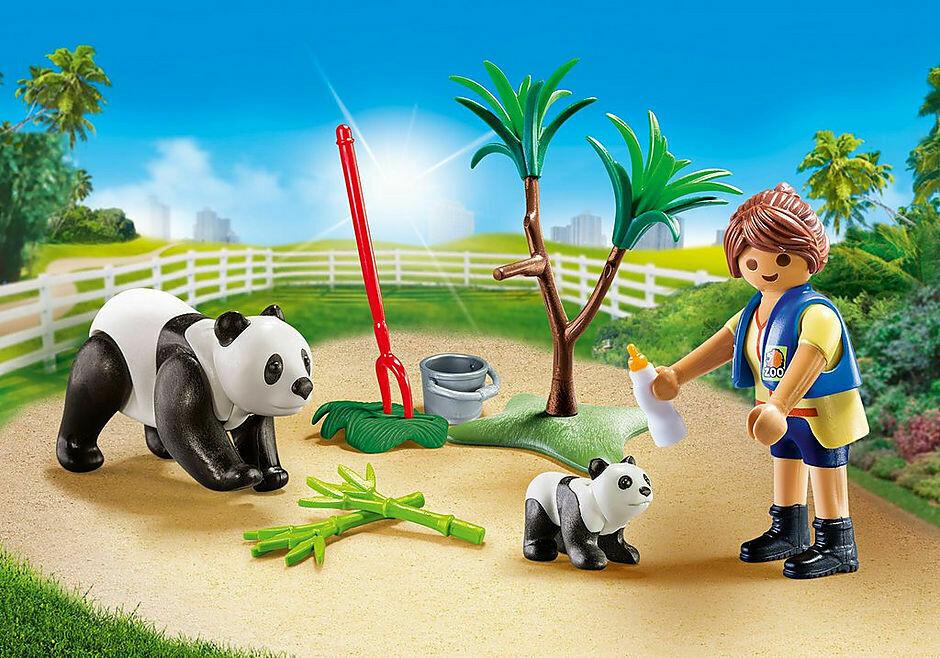 Playmobil; Panda Caretaker Carry Case