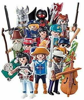 Playmobil; Playmobil Figures  Series 16 - Boys