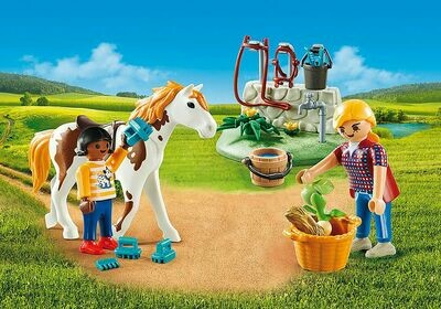Playmobil: Horse Grooming Carry Case