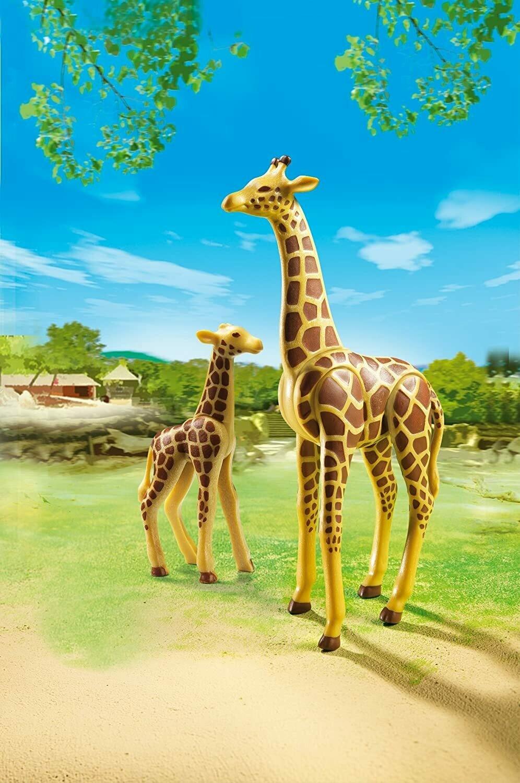 Playmobil; Giraffe With Calf