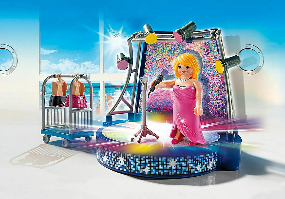 Playmobil; Singer With Stage