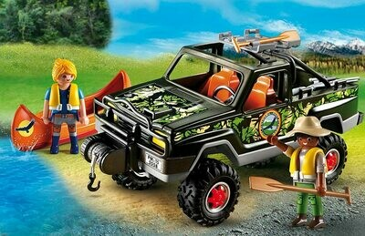 Playmobil; Adventure Pickup Truck