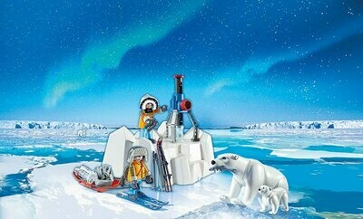 Playmobil: Arctic Explorers With Polar Bears (Discontinued)