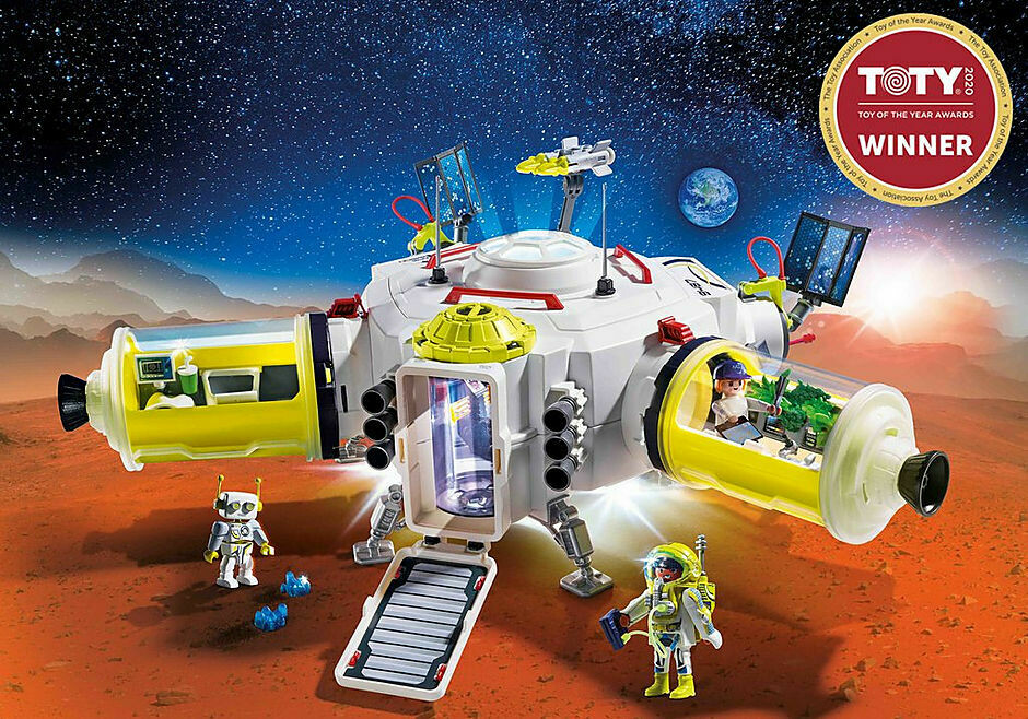 Playmobil; Mars Space Station