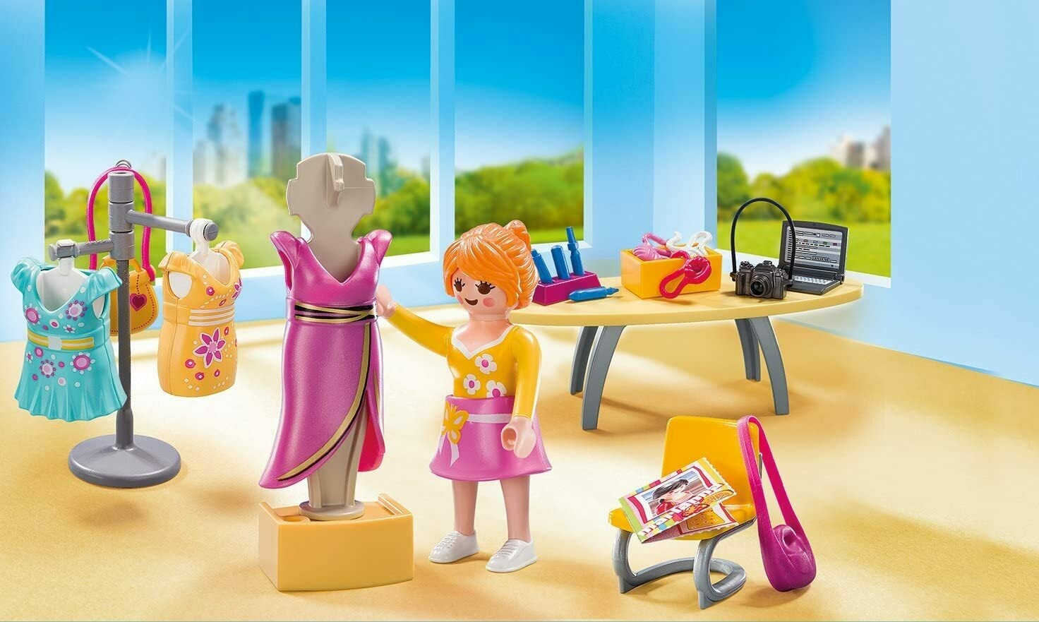 Playmobil; Fashion Boutique Carry Case (Discontinued)