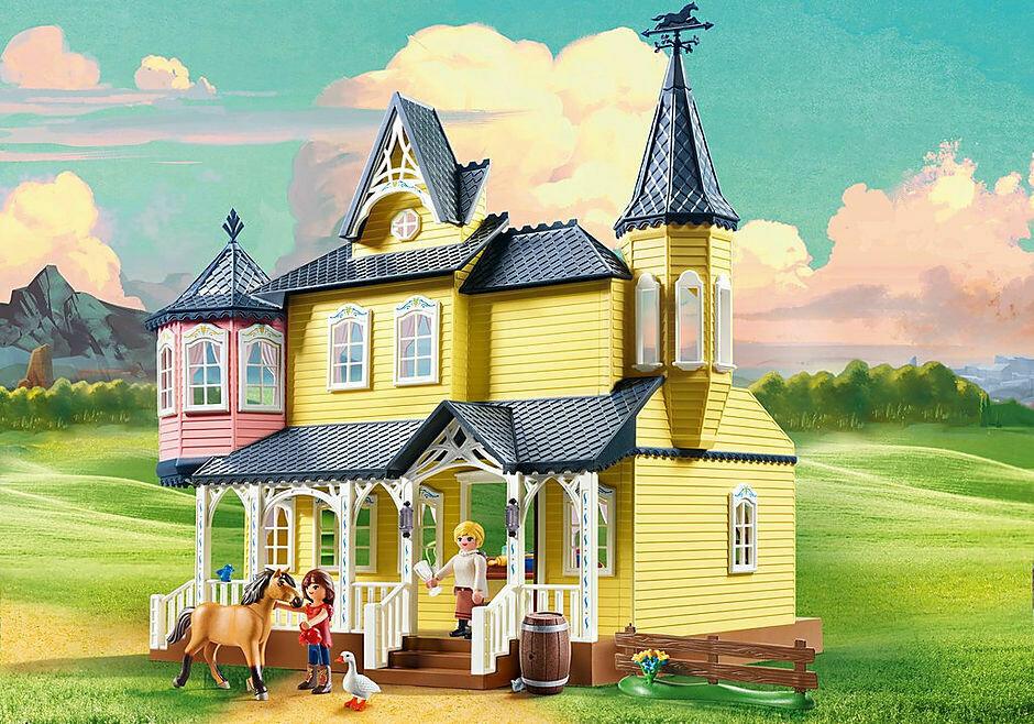 Playmobil; Luckys Happy Home Spirit Riding Free