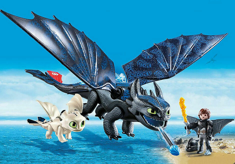 Playmobil; Toothless And Hiccup Play Set