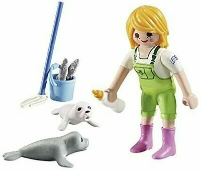 Playmobil: Zookeeper With Seal Pups