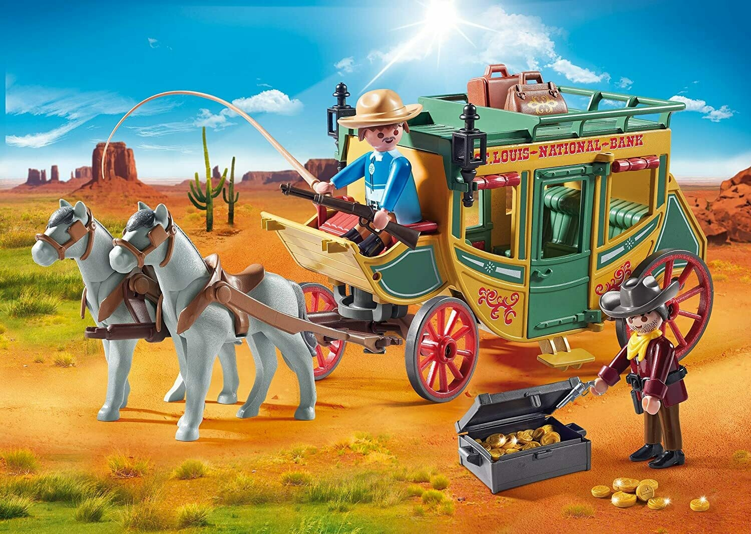 Playmobil; Stage Coach