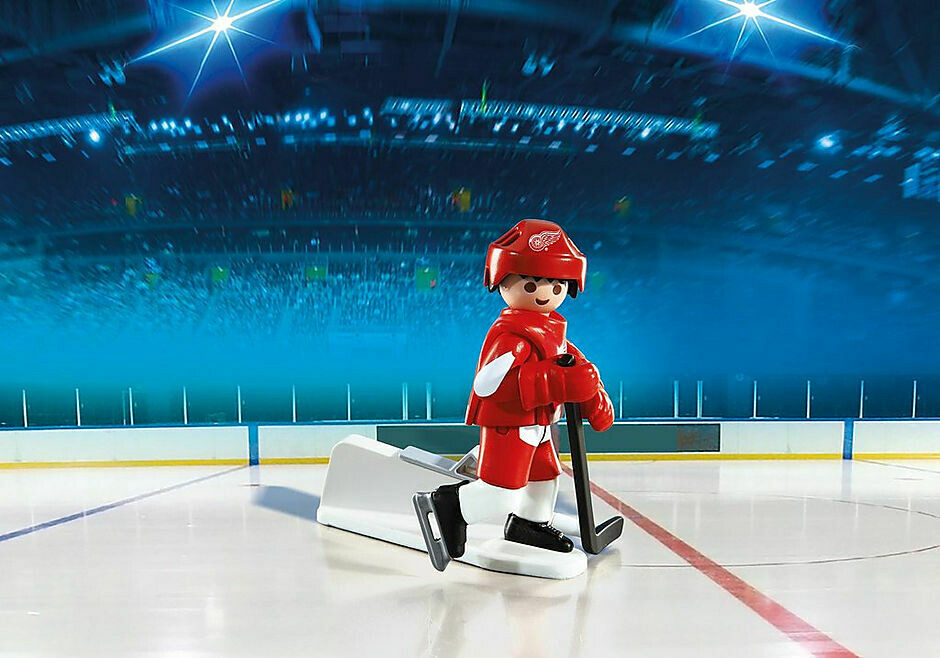 Playmobil; Nhl Detroit Red Wings Player