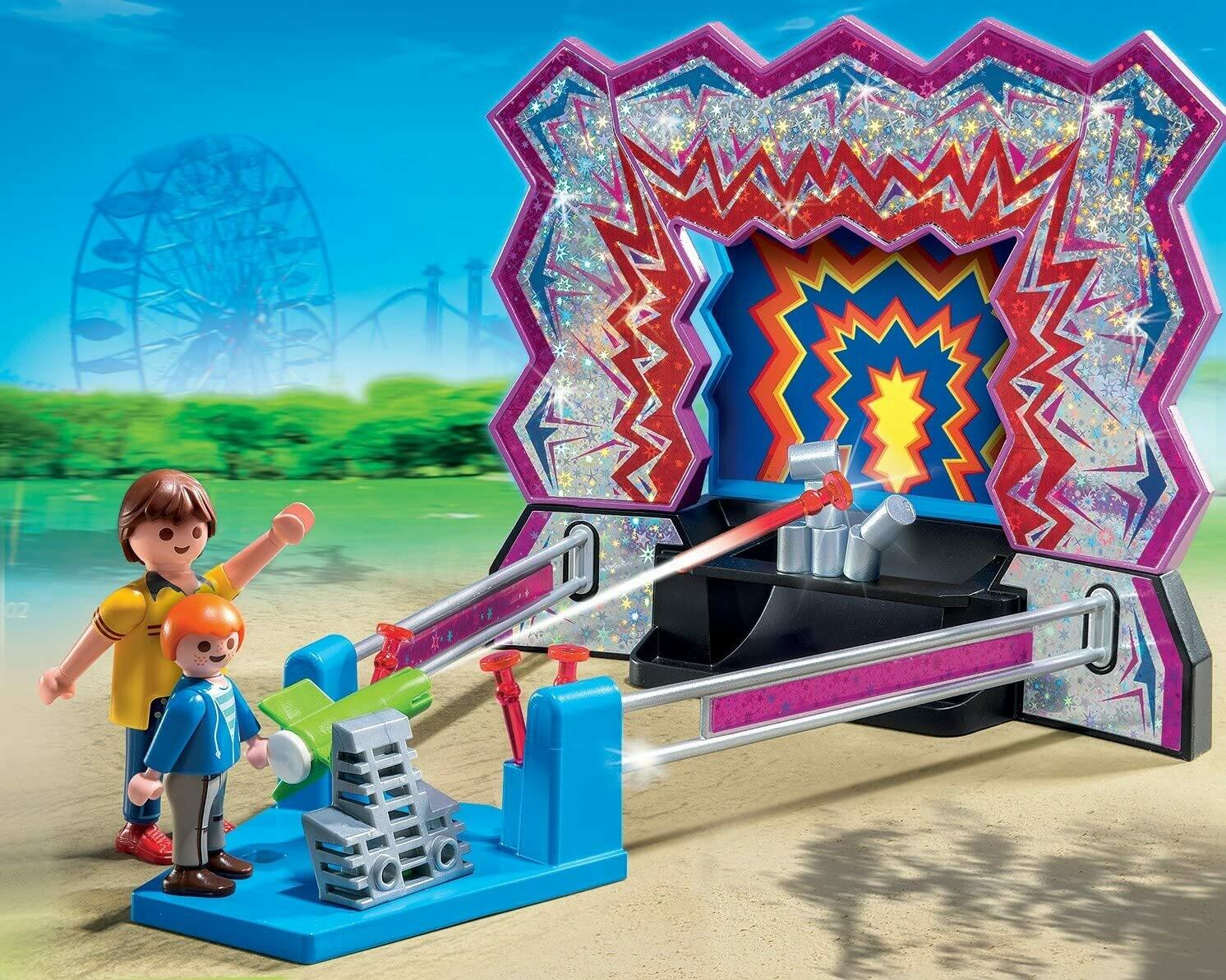 Playmobil; Tin Can Shooting Game