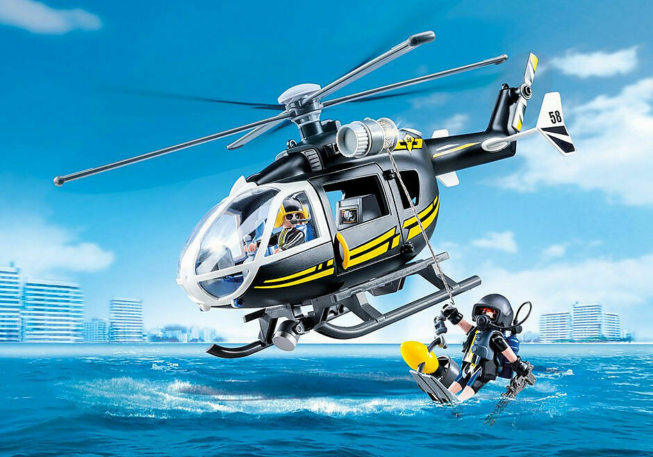 Playmobil; Tactical Unit Helicopter