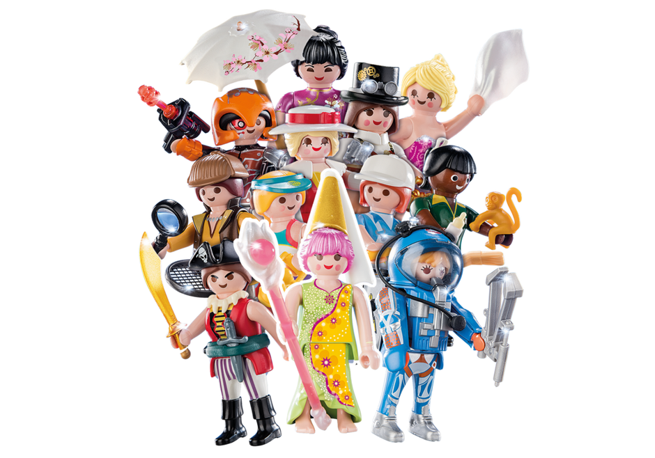 Playmobil; Figures Series 16 - Girls