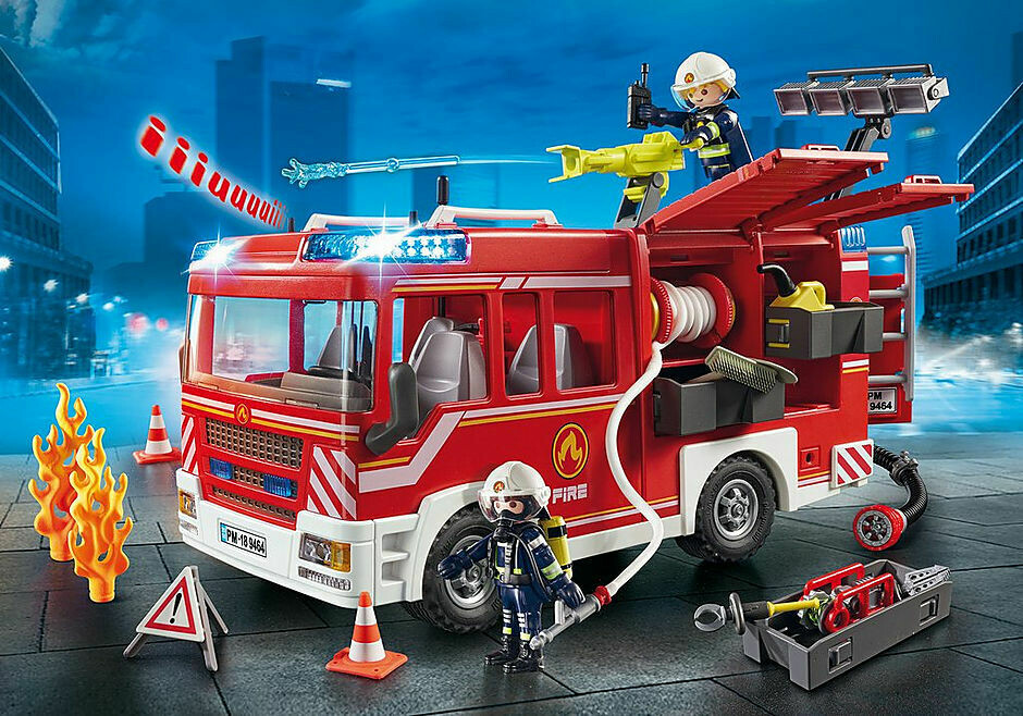 Playmobil; Fire Engine