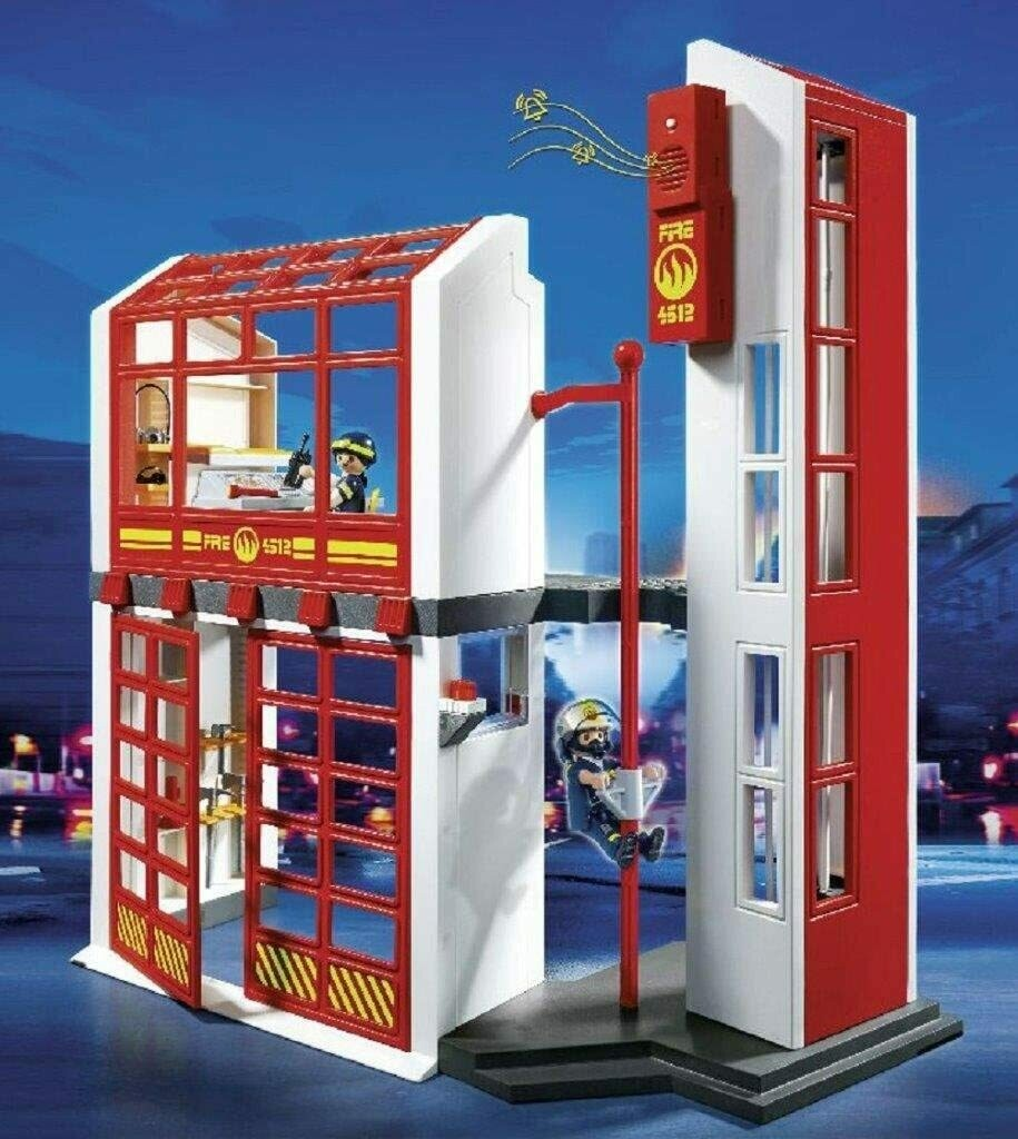 Playmobil; Fire Station (Discontinued)