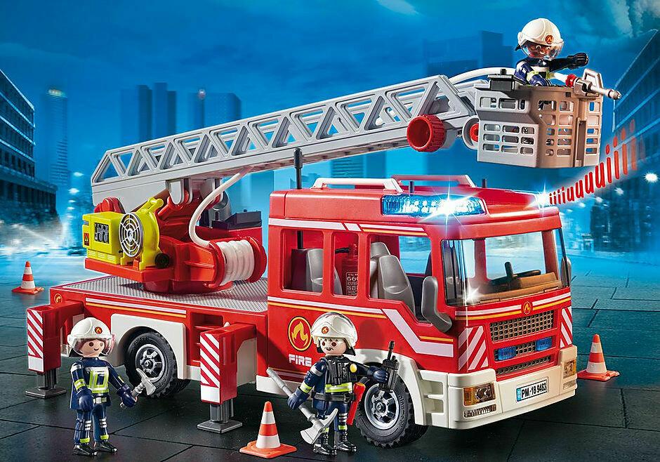 Playmobil; Fire Ladder Unit