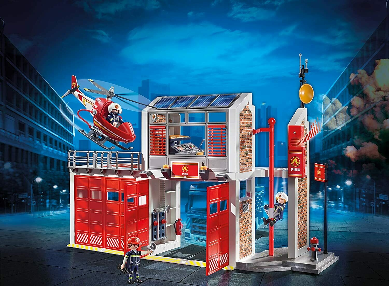 Playmobil; Fire Station