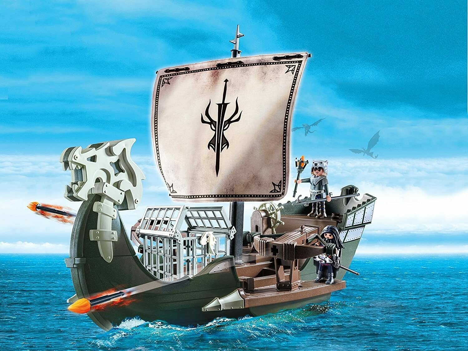 Playmobil; Drago's Ship (Discontinued)
