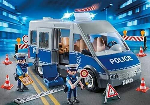 Playmobil; Policemen With Van