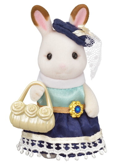 Calico; Town Girl Series - Hopscotch Rabbit -