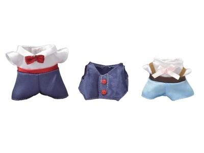 Calico; Dress Up Set (Navy and Light Blue)