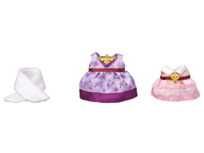 Calico; Dress Up Set (Purple and Pink)