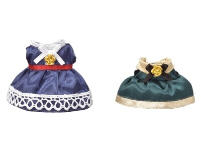 Calico; Dress Up Set (Blue and Green)