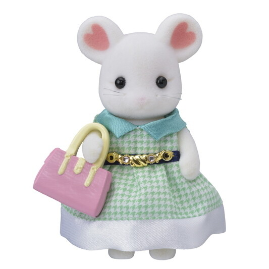 Calico; Town Girl Series - Marshmallow Mouse