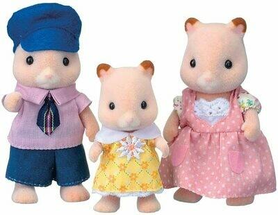 Calico; Fluffy Hamster Family